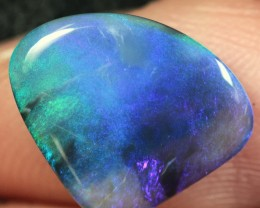 Lightning Ridge Solid Black Opal Stone 2.73ct