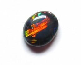 0.39Ct Gem Lightning Ridge Black Opal stone