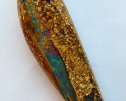 11.30CT VIEW PIPE WOOD REPLACEMENT BOULDER OPAL OI161