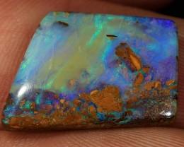 11ct 20x14mm Pipe Wood Fossil Boulder Opal  [LOB-1421]