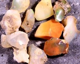 Parcel  Rough Wello Opals Low Grade  Tot.Cts. 70.0   RT261 10    Stones