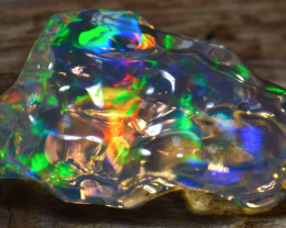 10ct Mexican Extremely Bright Carved Supreme Water Opal