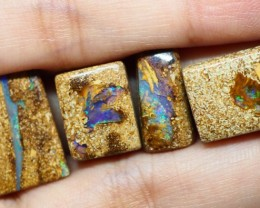 32.95CT VIEW PIPE WOOD REPLACEMENT (Parcel)  BOULDER OPAL OI271