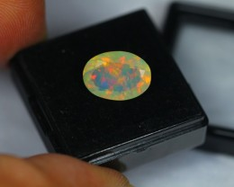 2.83Ct Natural Ethiopian Welo Faceted Opal Lot M135