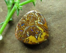 "17cts,""BOULDER MATRIX OPAL~SIDE DRILLED"""
