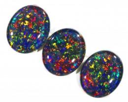 8.46Cts 3pcs Australian AAAAA Grade Opal triplet  SU1243