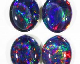 10.23Cts 4pcs Australian AAAAA Grade Opal triplet  SU1244