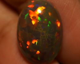 6.10 CT TOP QUALITY BEAUTIFUL FLASHY SEMI DARK ETHIOPIAN OPAL-AD167