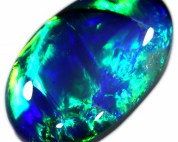 2.40 CTS BLACK OPAL -CHINSES WRITTING - [LRO180]SAFE