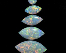 2.05cts Coober Pedy Parcel - 5 Stones (R2894)