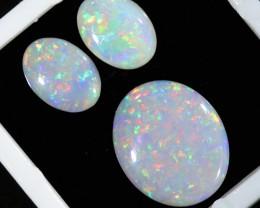 3.11Cts Set  3 matching Fire opals  SU1250