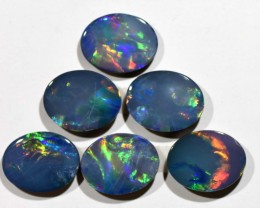 5.69cts Opal Doublets - 6 Stones (R2914)