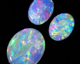2.80Cts Set  3 matching Fire opals  SU1268