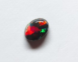 0.35ct Lightning Ridge Black Opal stone