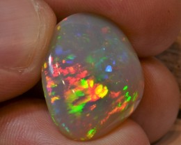 11.26ct Brilliant Supreme Multicoloured Metallic Base Wello Opal