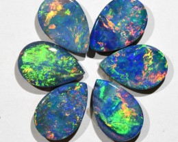 4.44cts Opal Doublets - 6 Stones (R2924)
