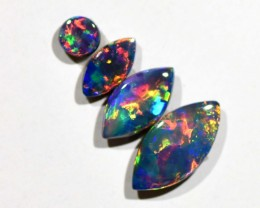 1.56cts Opal Doublets - 4 Stones (R2935)