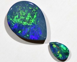 1.85cts Opal Doublets - 2 Stones (R2941)