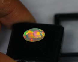 2.03Ct Natural Ethiopian Welo Faceted Opal Lot M136