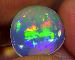 5.80 cts Ethiopian Welo RAINBOW PATCHWORK crystal opal N9 3/5