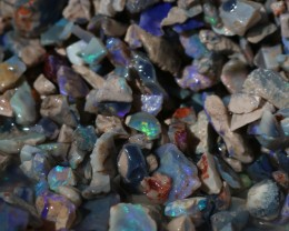 Lightning Ridge Black Opal 10 Oz Chips Small Opals