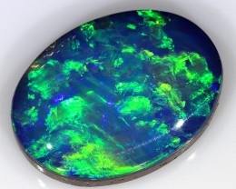 5.35ct 14.5x11mm Lightning Ridge Opal Doublet [PDO-138]