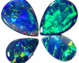 1.09 CTS GEM DOUBLET PAIR SET FOR EARRINGS [SEDA989-6]SAFE