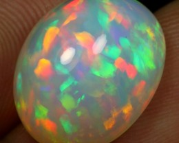 6.90cts 5/5 CONFETTI Natural Ethiopian Welo Opal
