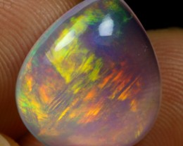 8.00cts Brush Fire Ethiopian Crystal Solid Opal
