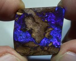 16.75 ct Boulder Opal Natural Blue