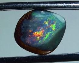 4.05 ct Boulder Opal With Gem Multi Color