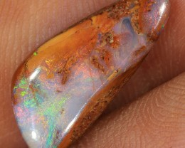 3.45ct 17x8mm Pipe Wood Fossil Boulder Opal  [LOB-1433]