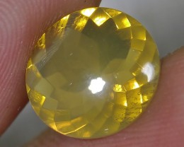 2.30 CT UNTREATED FIRE INDONESIAN FACETED OPAL