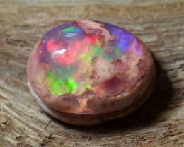 5 ct Natural Mexican Matrix Cantera Multicoloured Fire Opal Wirewrap read