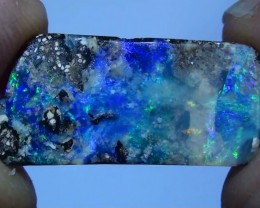 7.0 ct Beautiful Blue Green Natural Free Form Queensland Boulder Opal