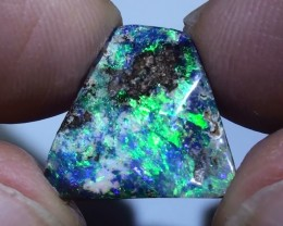 7.90 ct Gem Blue Green Natural Free Form Queensland Boulder Opal