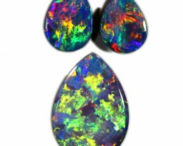 2.07 CTS GEM DOUBLET SET FOR EARRING AND PENDANT [SEDA1086]SAFE