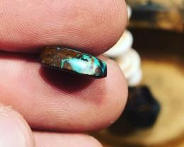 NO RESERVE Matrix boulder opal cabochon