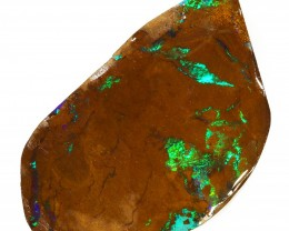 88CTS  Boulder Opal Rough/Rub Pre-Shaped --  S19
