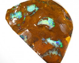 126CTS  Boulder Opal Rough/Rub Pre-Shaped --  S22