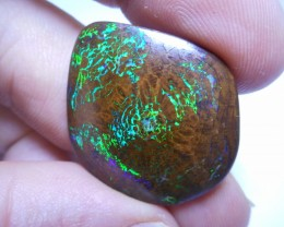 29.3ct Electric Boulder Matrix Polished Stone