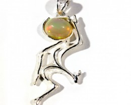 Pendant Silver 925 whit Wello Opal 19.0 cts. CV15