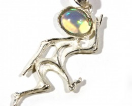 Pendant Silver 925 with Wello Opal Tot. Cts. 19    CV19