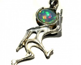 Pendant Silver 925 with Wello Opal Tot. Cts. 19.0    CV16