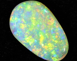 1.00CTS  COOBER PEDY SOLID OPAL  GREAT COLOUR PLAY --S100
