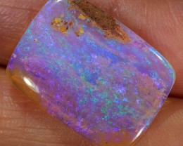 6ct 19x14mm Pipe Wood Fossil Boulder Opal  [LOB-1456]