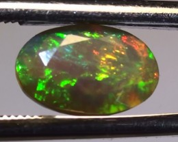 1.25 ct Stunning Natural Gem Rainbow Welo Facet