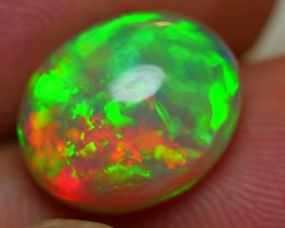 4.10 CRT STUNNING PATCHWORK NEON FIRE SWEET BEAUTY COLOR WELO OPAL