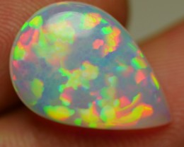4.45 CRT TOP QUALITY 5/5 NEON PRISM RAINBOW PUZZLE PATTERN WELO OPAL