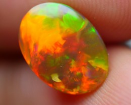 1.70 CRT GORGEOUS BROWN BASE FULL FIRE BEAUTY COLOR WELO OPAL